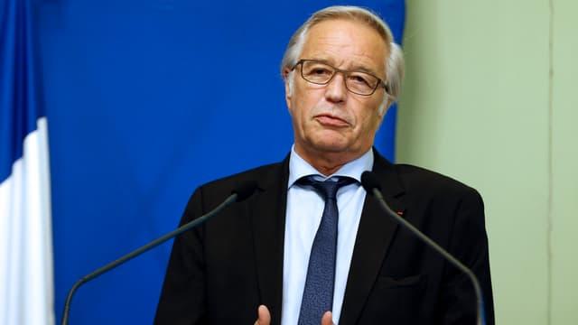 François Rebsamen est candidat à la mairie de Dijon le 10 août.