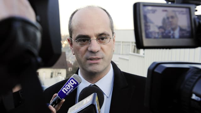 Le ministre de l'Education nationale Jean-Michel Blanquer, alors recteur de l'académie de Créteil, le 11 mars 2009.