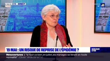 """Réouvertures: pour l'immunologiste Jacqueline Marvel, """"on est sur une décrue mais ça reste fragile"""""""