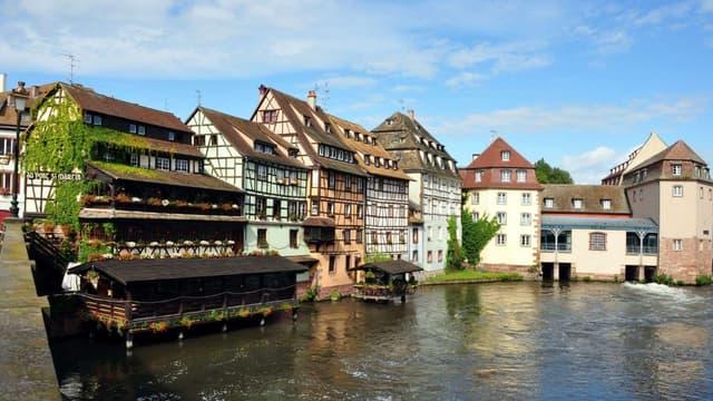 La ville de Strasbourg (illustration)
