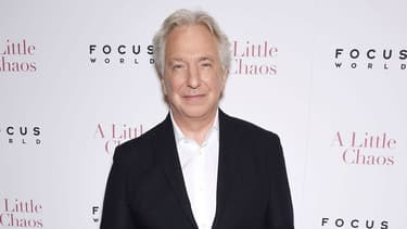 Alan Rickman en juin 2015 à New York.