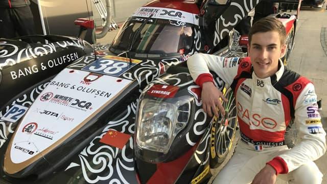 A 19 ans seulement, Thomas Laurent se lance dans l'aventure des 24 Heures du Mans.