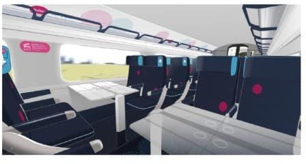 Le futur aménagement des trains Ouigo