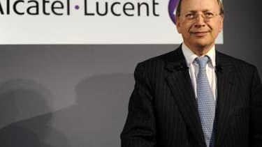 Le Néerlandais Ben Verwaayen est, depuis 2008, directeur général et administrateur d'Alcatel-Lucent.