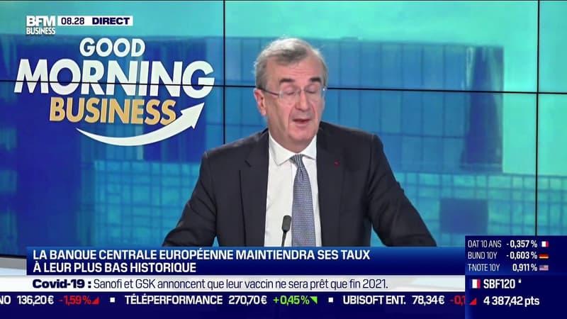 François Villeroy de Galhau, gouverneur de la Banque de France: