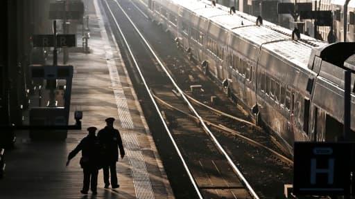 A peu près un tiers des trains nationaux et régionaux circuleront ce mercredi.