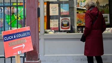Une librairie propose le click&collect à Rennes le 2 novembre 2020