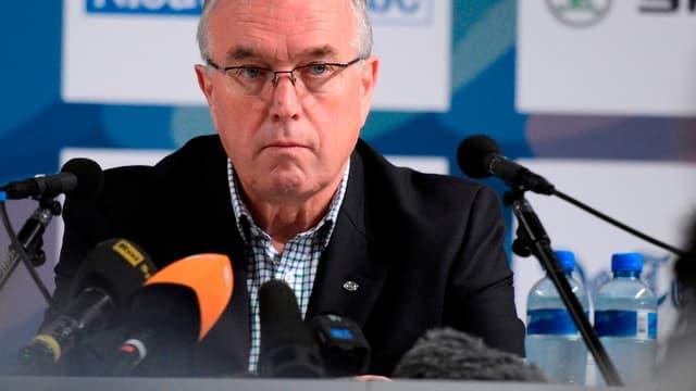 Pat McQuaid, président de l'UCI