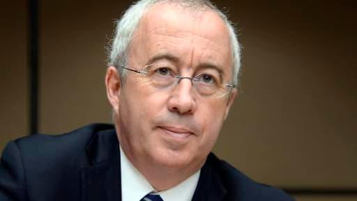 Luc Oursel, le président du directoire d'Arvea, devant la commission d'enquête parlementaire, ce mardi.