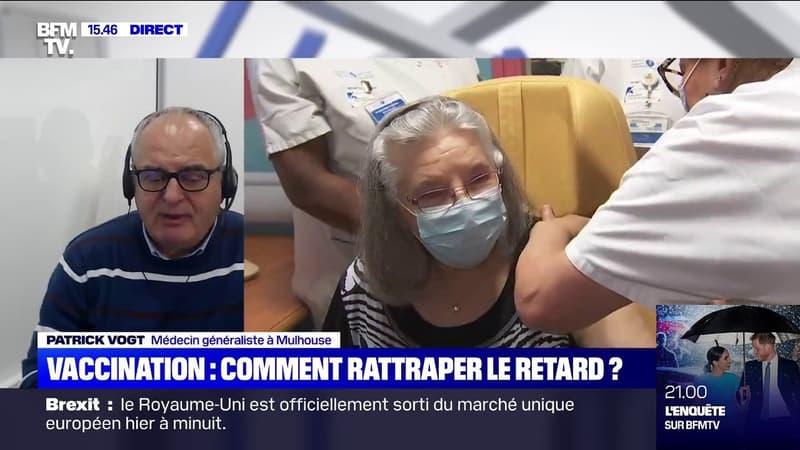 Vaccination: Patrick Vogt, médecin généraliste à Mulhouse, appelle à
