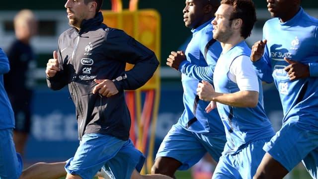 Franck Ribéry, Rio Mavuba, Mathieu Valbuena et Blaise Matuidi
