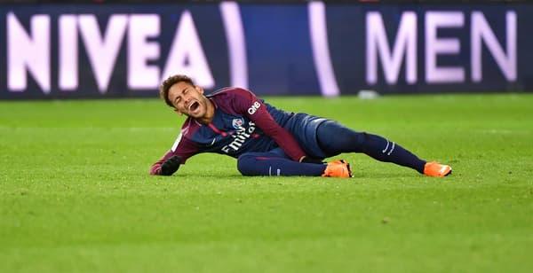 Neymar en février 2018