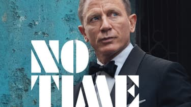 "Daniel Craig sur l'affiche de ""No time to die"", le prochain ""James Bond"""