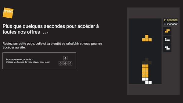 Capture d'écran du site de la Fnac ce 19 novembre 2020
