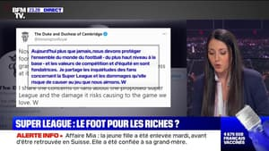 Le plus de 22h Max: Super League, le football pour les plus riches ? - 19/04