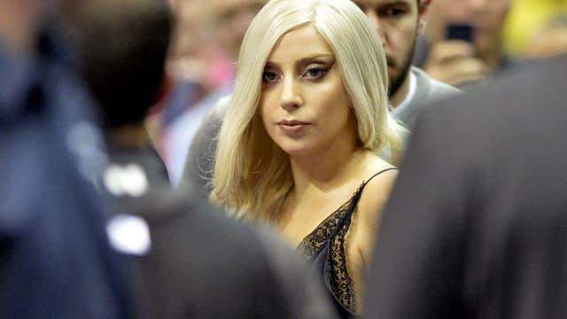Lady Gaga, fan des Spurs