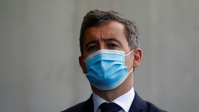Gérald Darmanin à Montpellier le 19 avril 2021