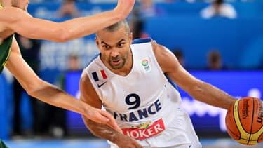 Le leader de l'équipe de France de basket annonce qu'il va être papa.
