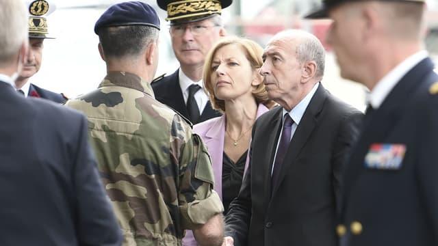 Florence Parly et Gérard Collomb
