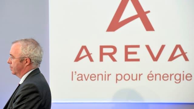 Luc Oursel a informé le gouvernement de sa décision de quitter Areva.
