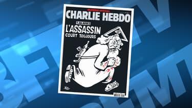 La une de Charlie Hebdo du mercredi 6 janvier