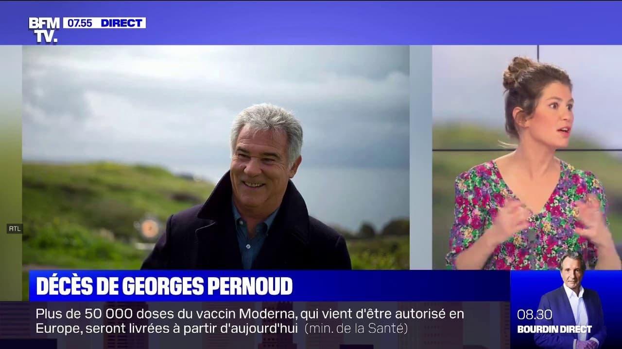 """Le présentateur historique de """"Thalassa"""" Georges Pernoud ..."""
