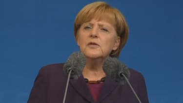 Angela Merkel, favorite des sondages pour les élections allemandes, pourrait être amenée à gouverner avec les sociaux-démocrates.