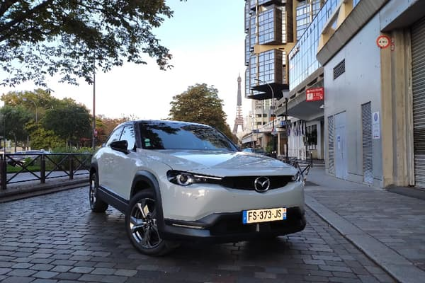 Le prix de ce MX-30 débute à 33.000 euros.