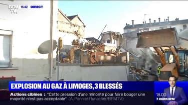Trois personnes ont été blessées après une explosion au gaz à Limoges