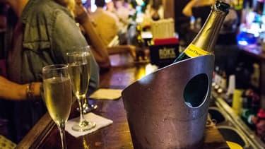 Ces cinq dernières années, les ventes de champagne ont reculé de 5,4%.
