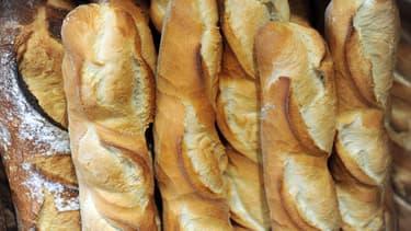Baguettes de pain. (Photo d'illustration)