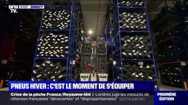 Les centres de stockage des pneus hiver font face à une forte demande