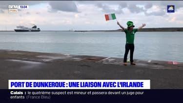 Port de Dunkerque: une liaison maritime de fret créée avec l'Irlande