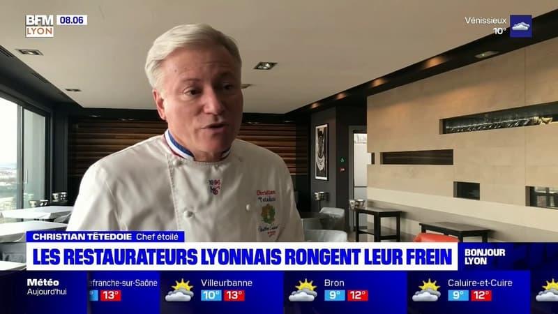 Lyon: les restaurateurs lyonnais demandent des perspectives de réouverture