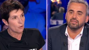 """Christine Angot et Alexis Corbière sur le plateau d'""""On n'est pas couché"""", samedi 16 septembre"""