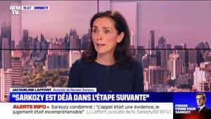 """Nicolas Sarkozy condamné: """"Je ne sais pas si c'est une justice d'exception, mais là, c'est exceptionnel"""", juge son avocate Me Laffont"""