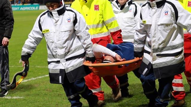 Falcao blessé face à Chasselay