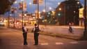 Les forces de police sécurisent une scène de crime à Chicago, le 2 juillet 2017. (Photo d'illustration)