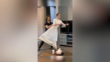 Confinés, ces danseurs de ballet de russe télétravaillent à leur manière