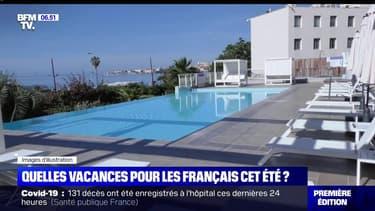 Vacances d'été: les français prévoient de partir majoritairement dans l'Hexagone