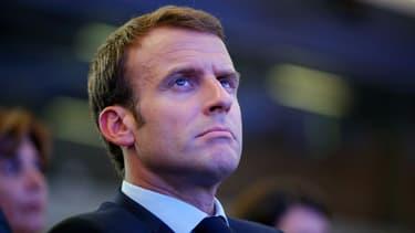 Emmanuel Macron le 30 mai 2018 à Paris.