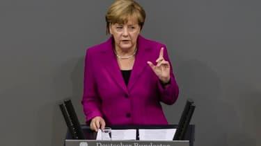 Angela Merkel a recadré les pays désireux d'assouplir les règles budgétaires.