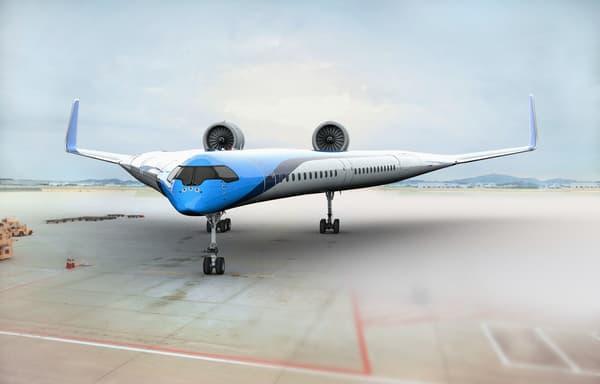 Flying V, le prototype de KLM
