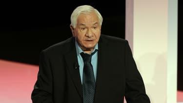 Michel Galabru lors de la cérémonie des Molières en 2010.