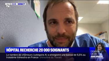"""""""On est en train de réfléchir à des actions nationales, dures, illimitées"""": la colère du Dr Arnaud Chiche face au manque de personnel à l'hôpital"""