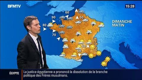 La météo pour ce dimanche – 09/08