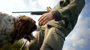 Un chasseur, image d'illustration. - Jeff Pachoud - AFP