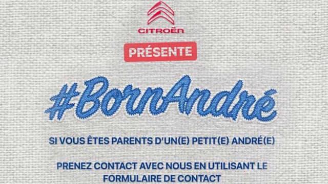 Une Citroën André à gagner