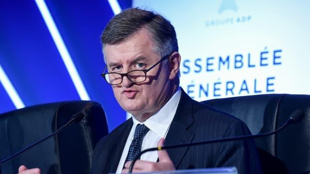 Augustin de Romanet, PDG d'ADP