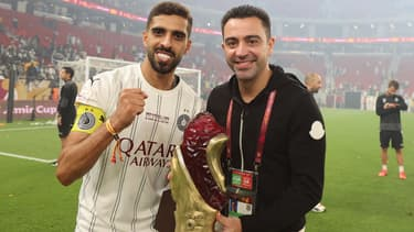 Xavi après la victoire récente d'Al-Sadd en Coupe de l'Emir